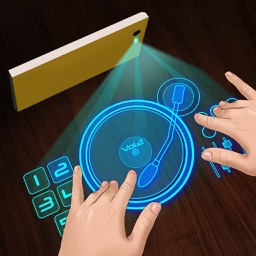 Hologram Real Simulator DJ