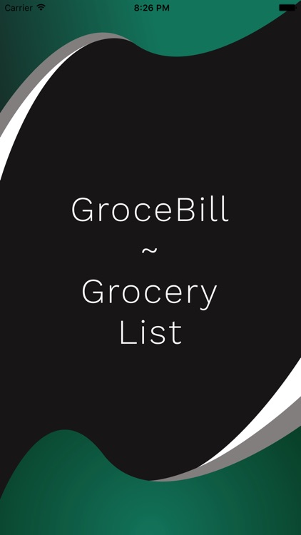 GroceBill - Grocery List App screenshot-0