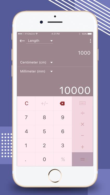Calculator - Unit Converter screenshot-5
