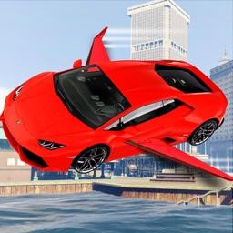 Flying car simulator 2017: Real Driving Air Show
