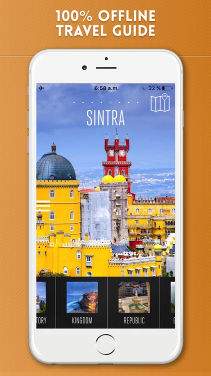 Sintra Travel Guide and Offline City Street Map