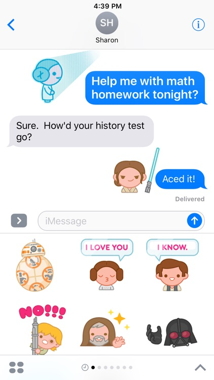 Star Wars Stickers screenshot-0