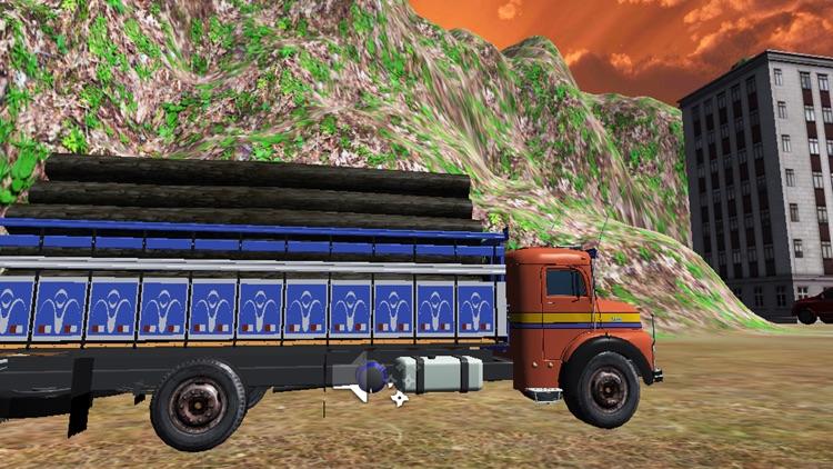 City Cargo Truck Driver 3D: Transportation Trailer screenshot-4