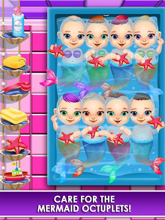 Screenshot #5 for Mermaid Salon Make-Up Doctor Kids Games Free!
