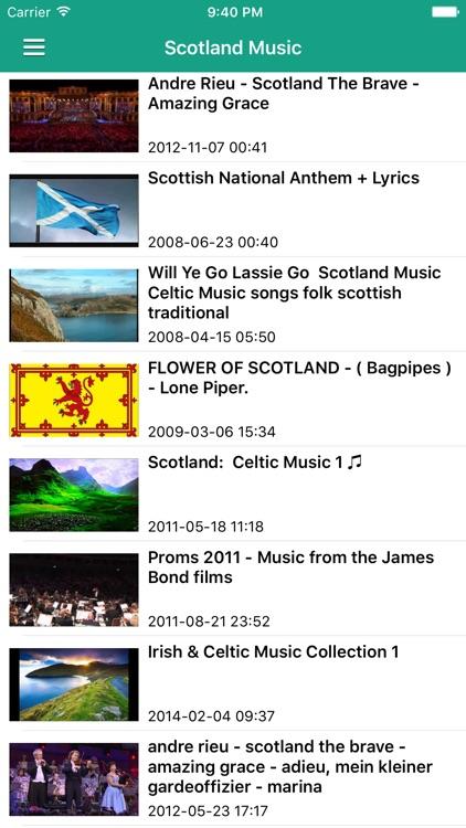 Irish Celtic Music & Scottish Folk Songs Pro screenshot-3
