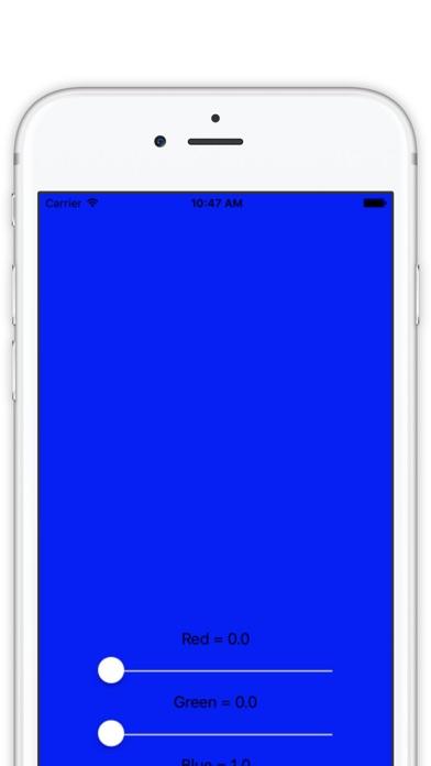 RGB Colour screenshot three