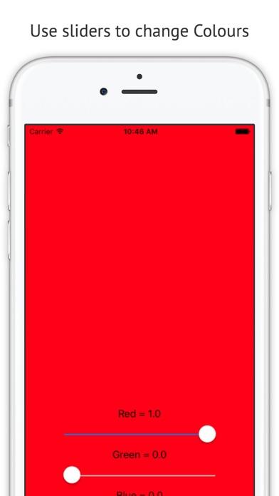 RGB Colour screenshot one