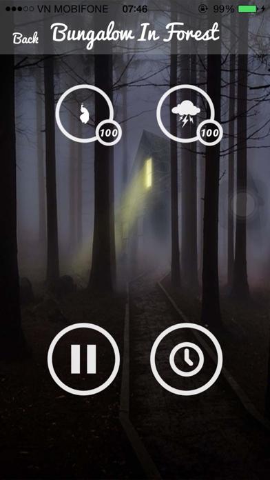 Relax Rain Sounds - Relaxing Sounds for Yoga screenshot four