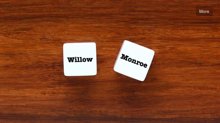 Name Dice - random names for writers