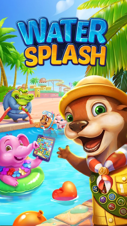 Water Splash – Cool Match 3 screenshot-4