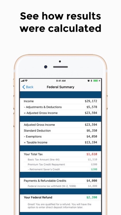 TaxCatalyst Income Tax Prep screenshot-3