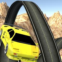 Stunt In Racing Car