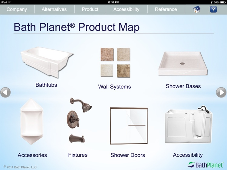 Bath Planet Product Presentation screenshot-3