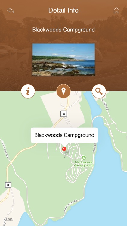 Maine Camping Guide screenshot-3