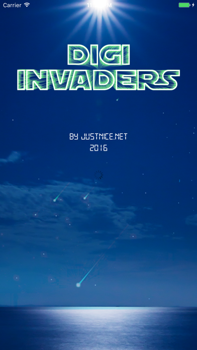 Digi Invaders screenshot one