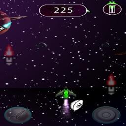 shoot space adventure endlesretro arcade  shooter