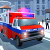 究極の救助救急車のドライビングシミュレータ