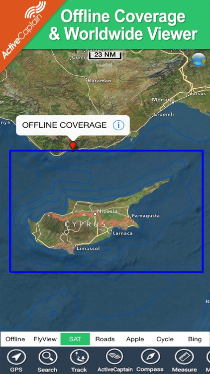 Cyprus HD - GPS Map Navigator screenshot-4