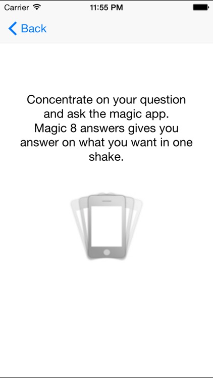 Magic 8 answers