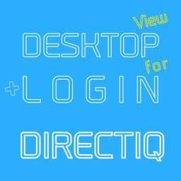 DESKTOP VIEW + LOGIN for DirectIQ