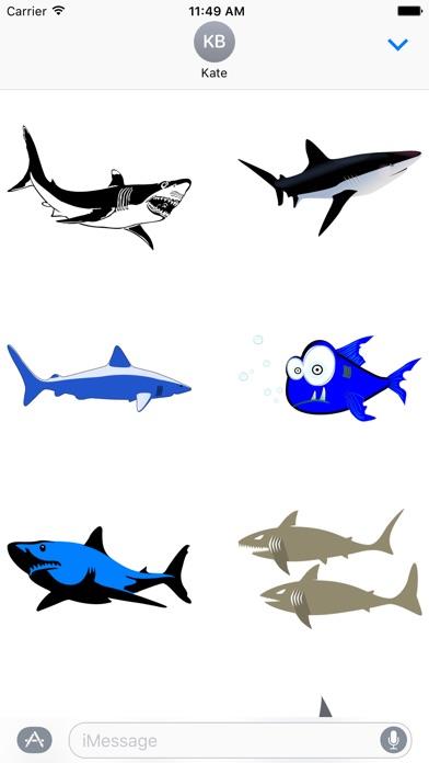Shark Sticker Packのスクリーンショット1