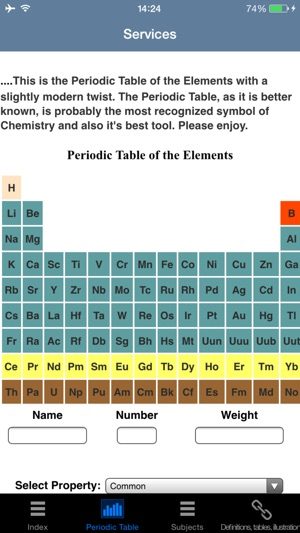 Myperiodictableapps on the app store iphone screenshots urtaz Choice Image