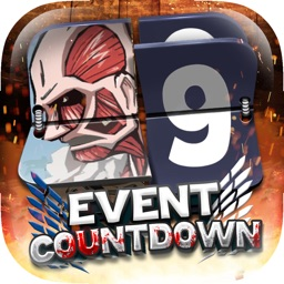 "Event Countdown Pictures Pro ""for Attack on Titan"""