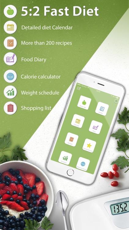 5:2 - Fast Diet! Lose weight!