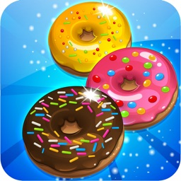 Donut Dazzle Dash - Match 3 Sweet Cookie Mania