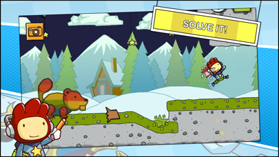 Screenshot from Scribblenauts Remix