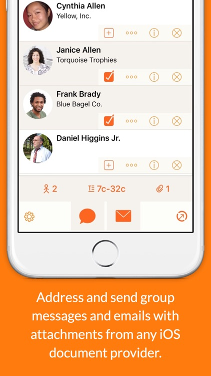 Interact Contacts screenshot-4