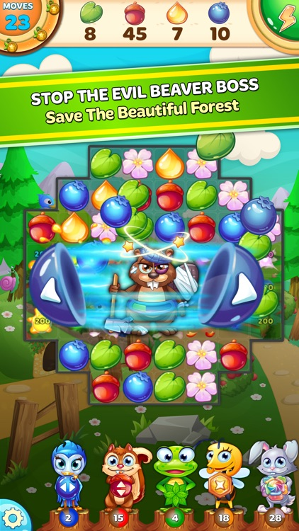 Forest Rescue: Match 3 Puzzle screenshot-0