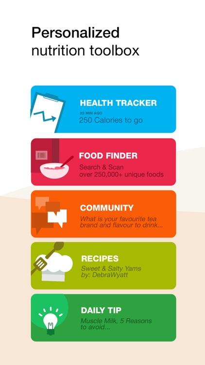 Fooducate Nutrition Tracker screenshot-0