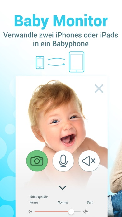 Screenshot for Babyphone 3g - Baby Monitor in Germany App Store