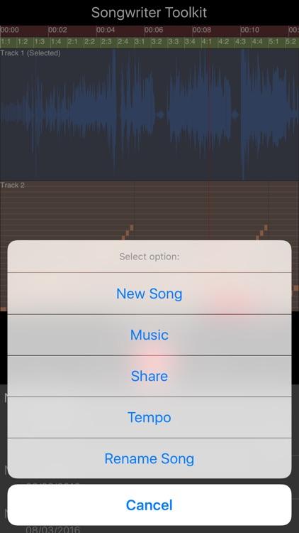 Songwriter Toolkit screenshot-3