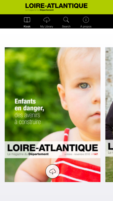 Loire-Atlantique Magazine screenshot one