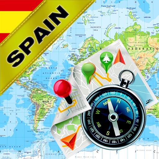 Испания, Португалия - Офлайн карта & GPS навигатор