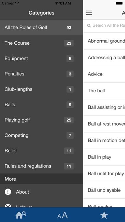 All The Rules Of Golf screenshot-4