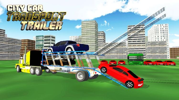 Car Transporter Delivery Truck 3D: Transport Tank screenshot-3
