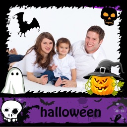Halloween Frames and Stickers