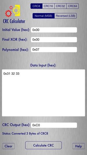 Png crc calculator