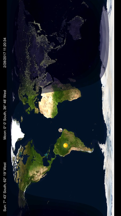 Day & Night – World Map by timeanddate.com