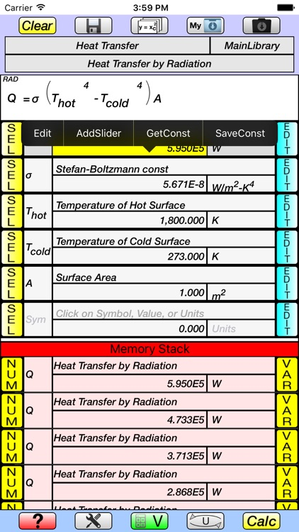 V-Calc screenshot-3