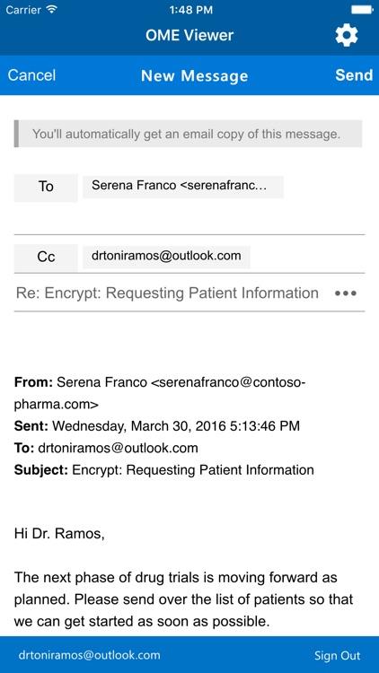 Office 365 Message Encryption Viewer screenshot-4