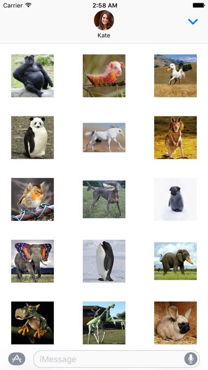 Strange Animals Sticker