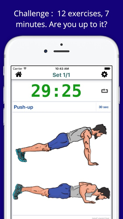 7 Minute SCIENTIFIC Workout Challenge Free