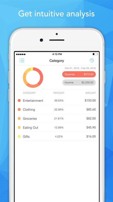 Pocket Expense - Personal Finance Assistant Screenshot