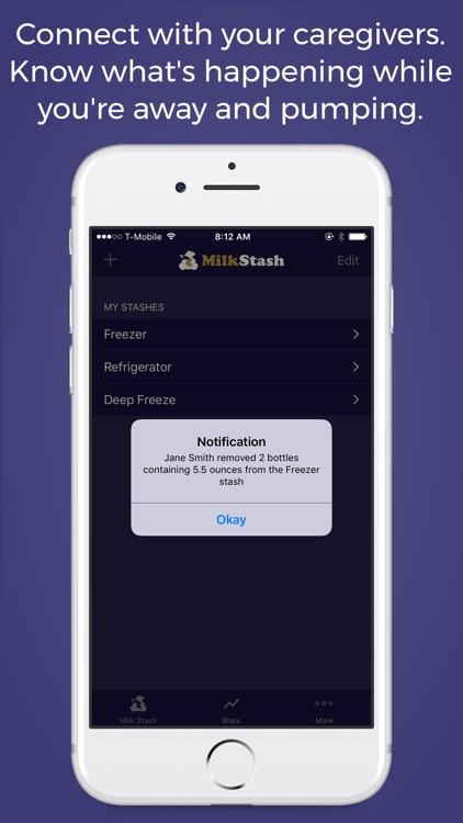 Milk Stash: Breast Feeding App screenshot-4