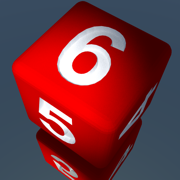 RPG D6 Role-Player Dice for iMessage