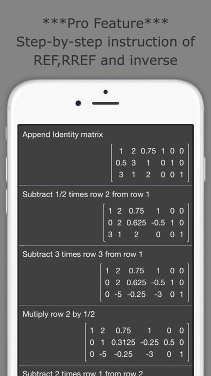 Matrix Calculator +